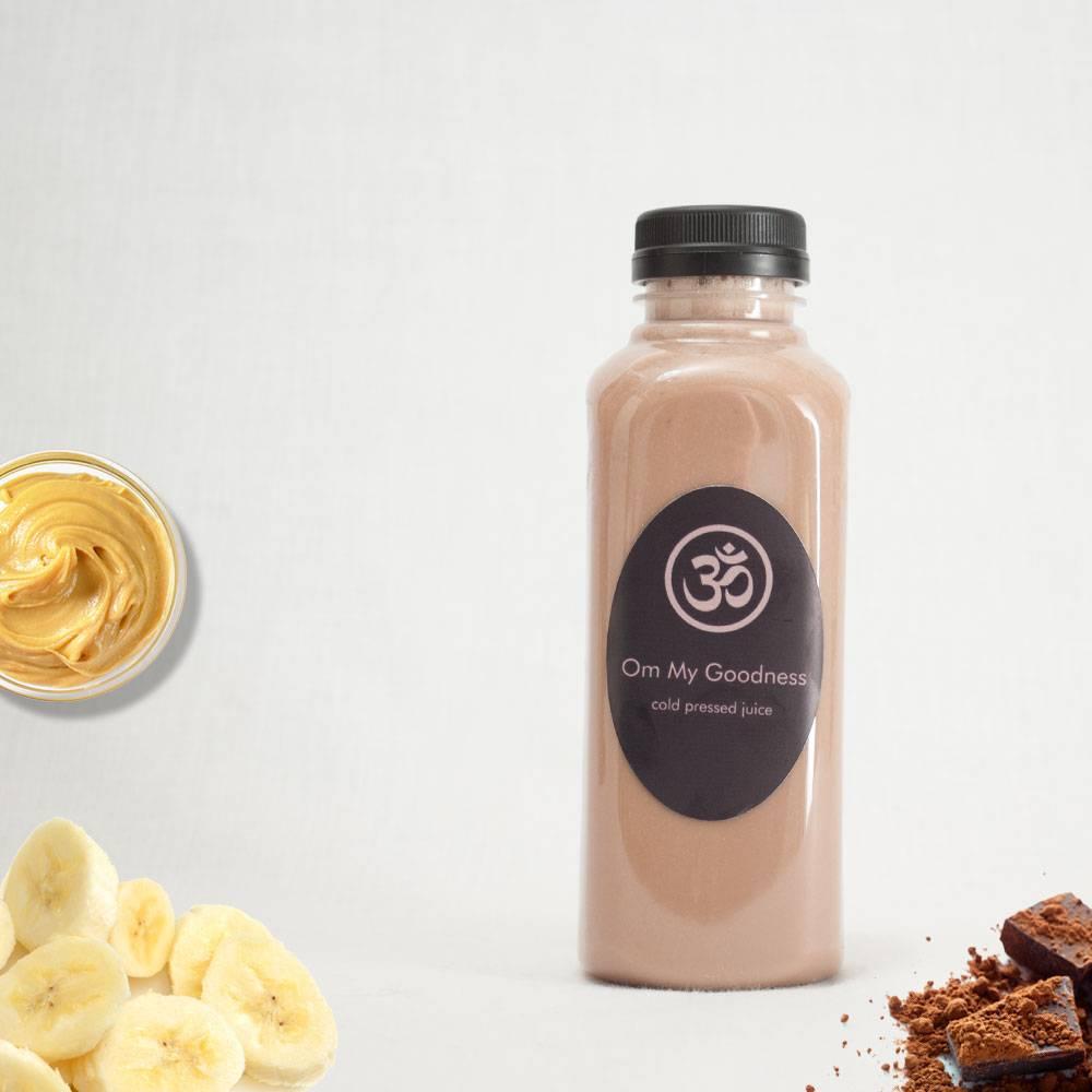 peanut-choc-banana-square