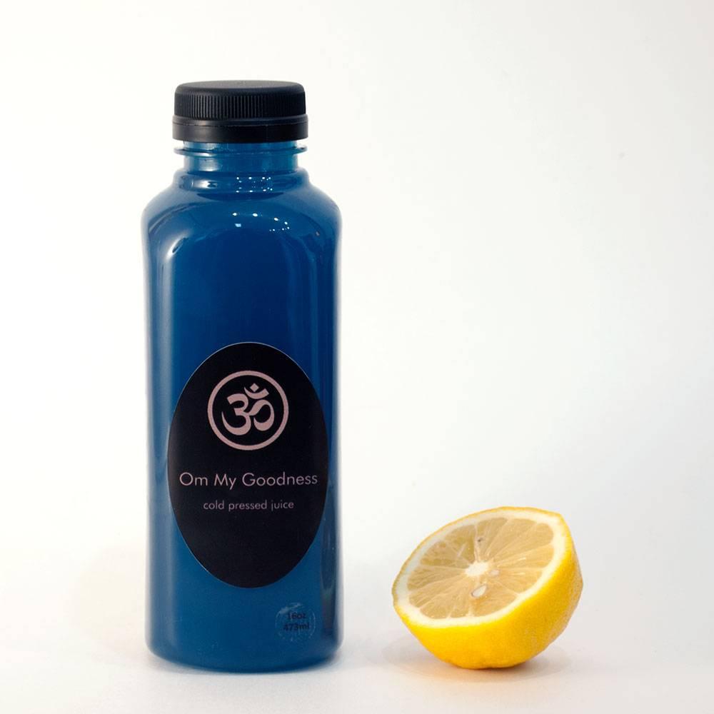 Blue Majik lemonade by Om my goodness