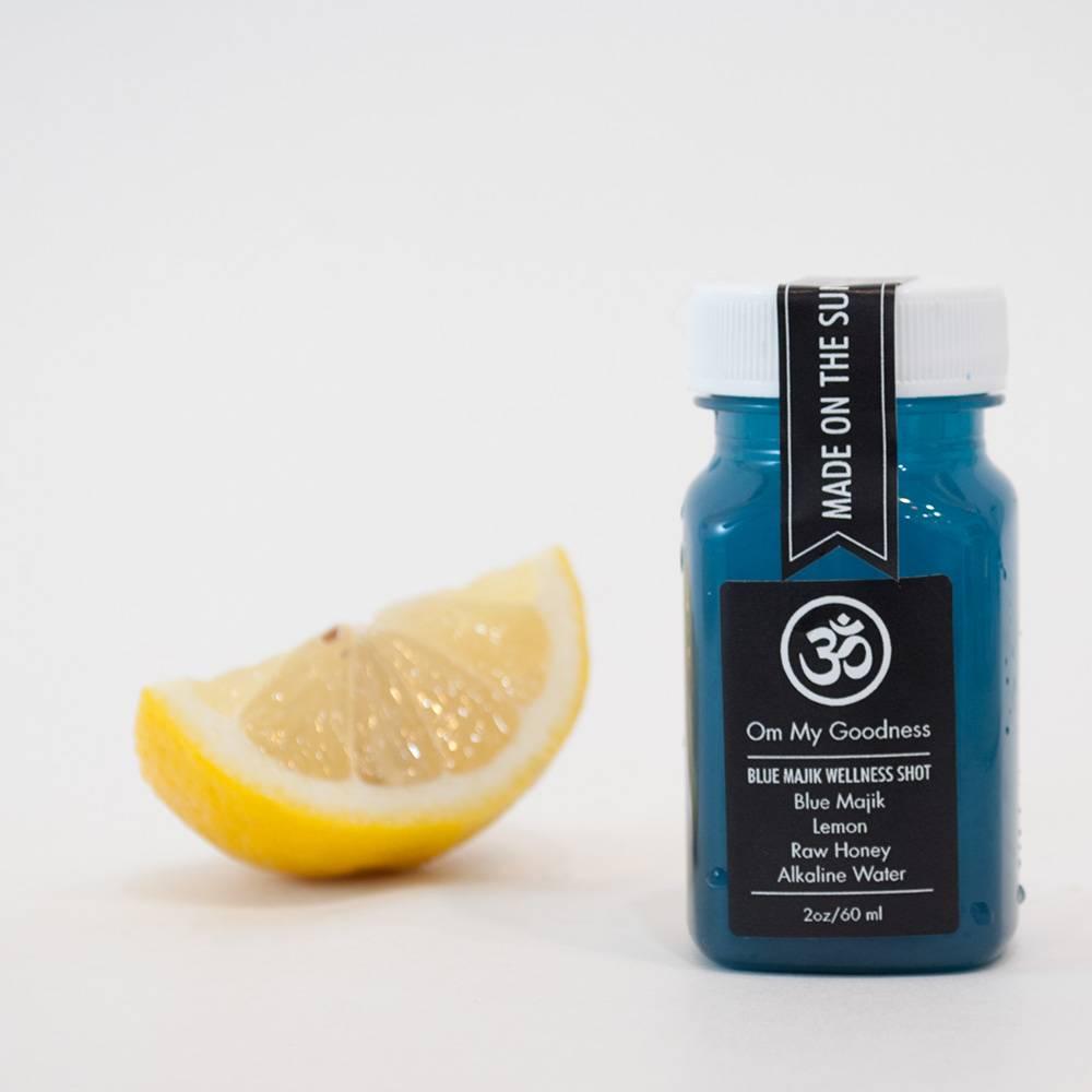 Blue Majik Wellness Shot by Om My Goodness